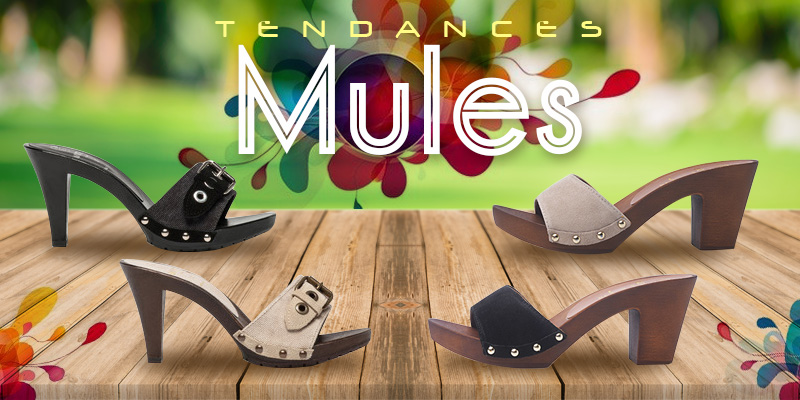 Gémo - tendances mules