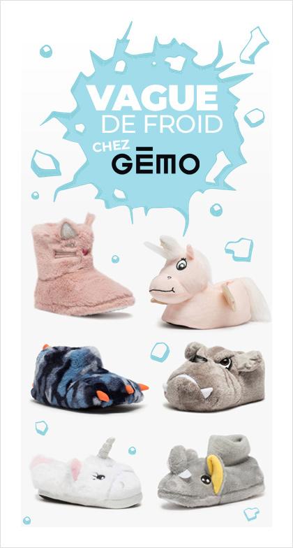 Vague de froid chez Gémo